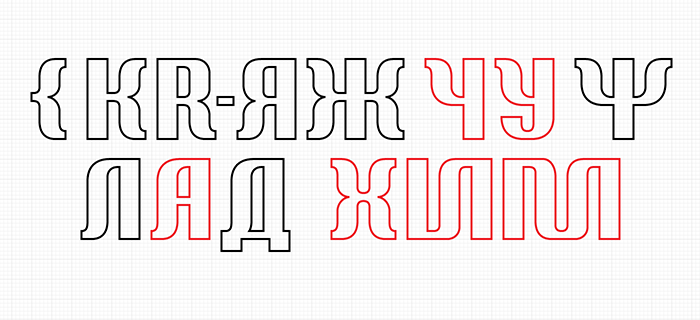 Weird curly Cyrillic sans — to the chapter 'Strange characters ot Cyrillic'